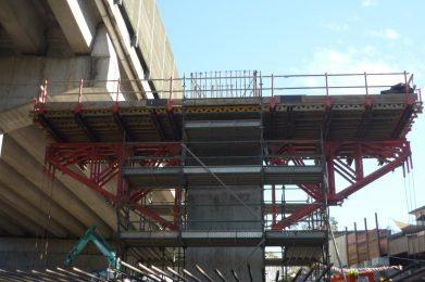 Bridge Widening - Formwork - Windsor Road