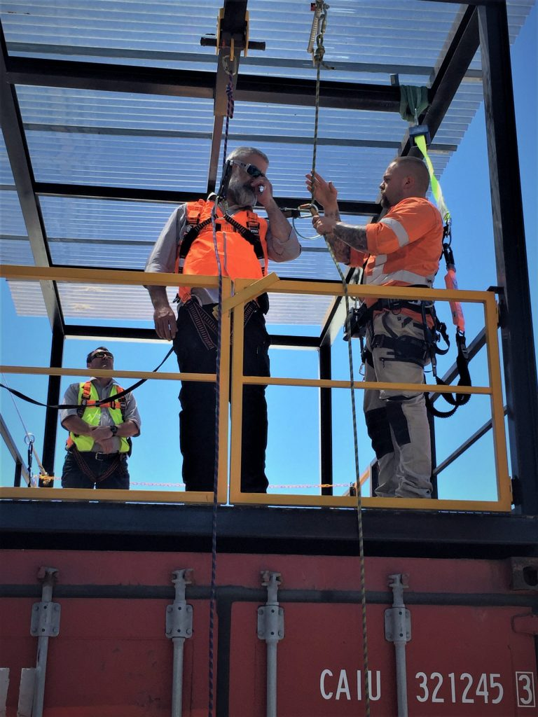 Working Safetly at Heights Training