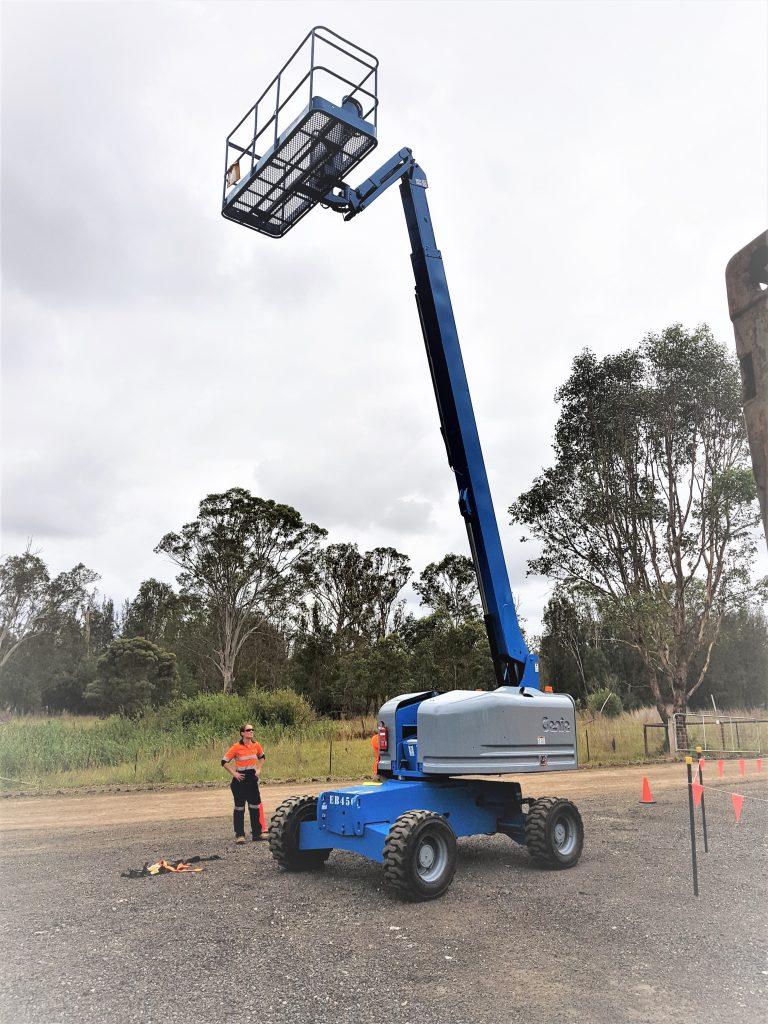 Operate Elevating Work Platform