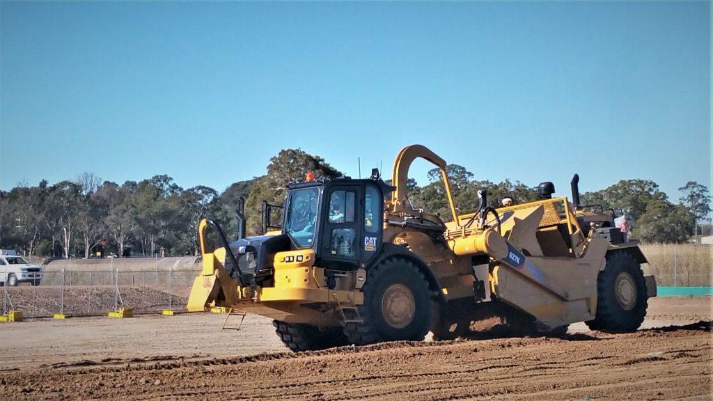 Conduct Civil Construction Scraper Operations