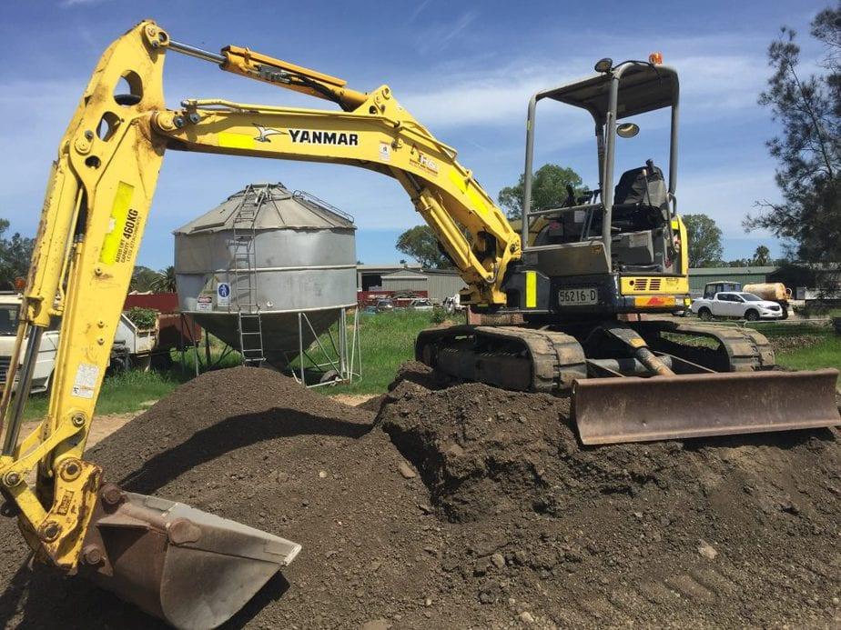 Conduct Civil Construction Excavator operations