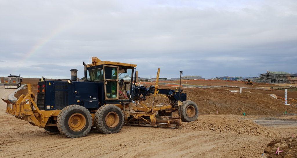 Conduct Civil Construction Grader Operations