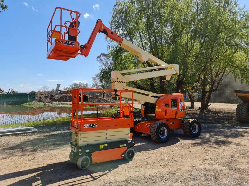 New Diesel Boom & Electric Scissor lift